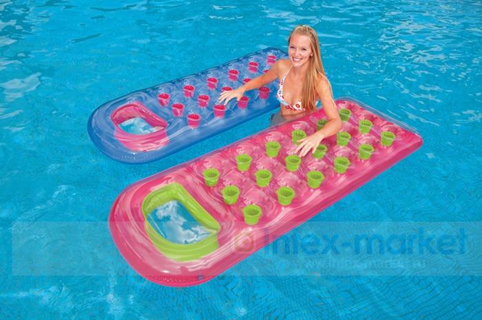 INTEX Adults Swim Pool Floats Toys Inflatable Mattress Funny Swim ...