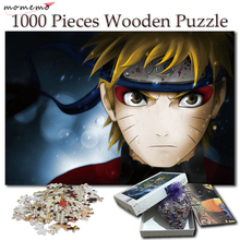 MOMEMO Cartoon Anime Puzzles for Adults Naruto Uzumaki Puzzle 1000 Pieces NARUTO Games Wooden Toys Kid Children Gifts