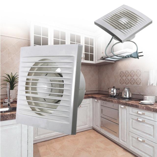 100mm X 100mm 12w Mini Wall Window Abs Plastic Exhaust Fan