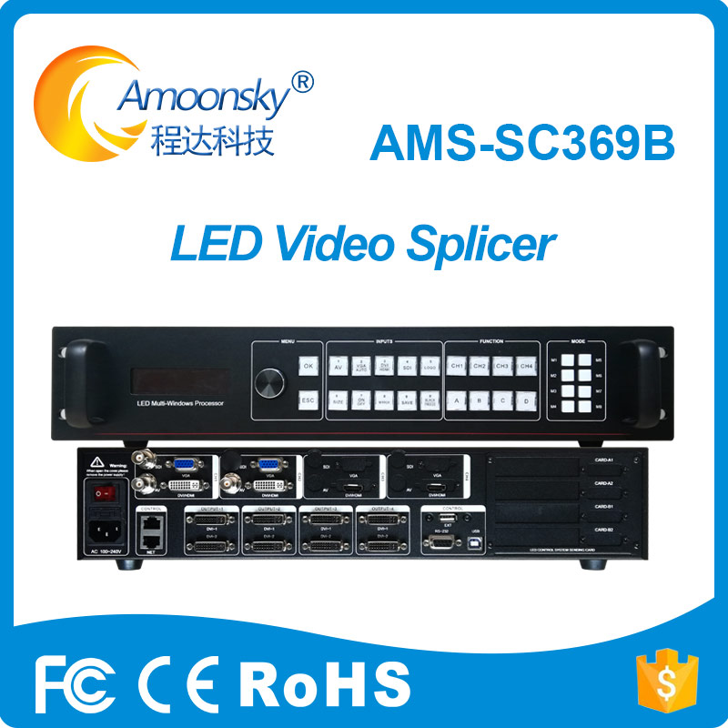 Amoonsky Sc369b Led Screen Video Processor Same To Magnimage Processor For Led Sign Frame Outdoor/indoor Accessories & Parts