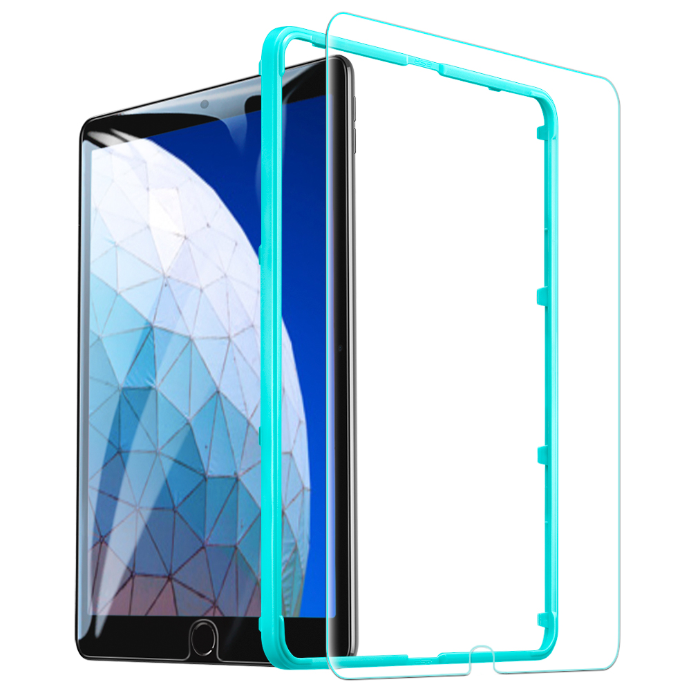 ESR закаленное стекло для iPad 7 Generration 10,2 Air 3 iPad Pro 10,5 Защитная пленка для экрана 9H стеклянная пленка для iPad 7th Gen Air3 2pc