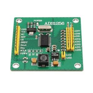 1 Uds ADS1256 módulo 24 Bit 8 canales ADC MÓDULO DE CA Tarjeta de adquisición de datos de alta precisión ADC