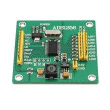 Модуль ADS1256, 24 бит, 8 канальный модуль ADC AD, высокоточная карта сбора данных ADC, 1 шт.