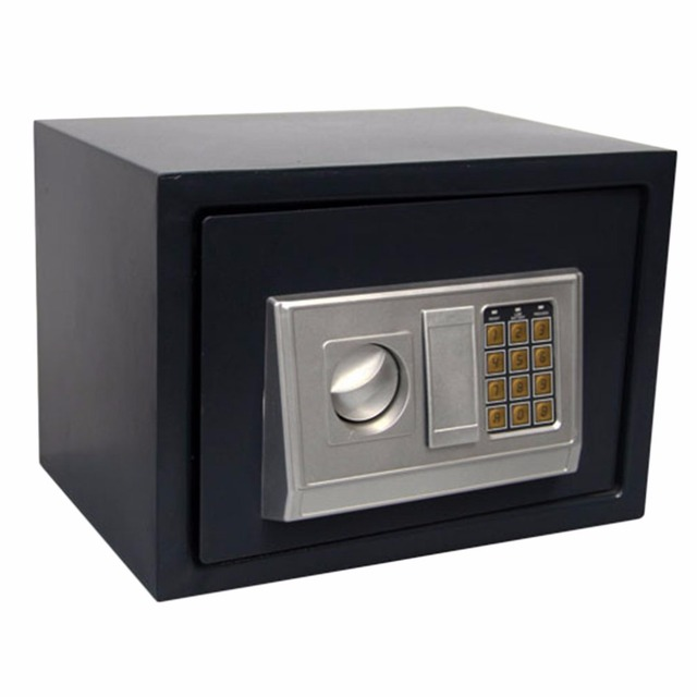 LESHP 30L Digital Electronic Safety box Keypad Deposit Box Security box for Home Hotel office Cash Money jewelry safe box