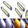 Dongzhen 2X Car LED COB Day Time Running Light DRL Driving 12V Turn Signal Fog Reverse