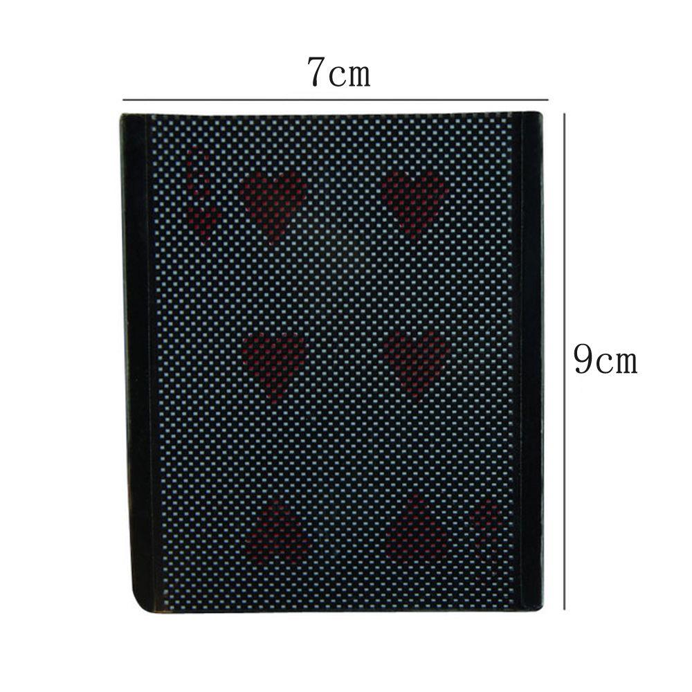 Card Vanish Illusion Change Sleeve Close-Up Street Magic Trick Choose Hidden Wenini Card Magic Props Black