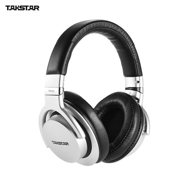 TAKSTAR PRO 82 מקצועי סטודיו דינמי צג אוזניות עם כבל אודיו עבור הקלטת ניטור הערכת מוסיקה