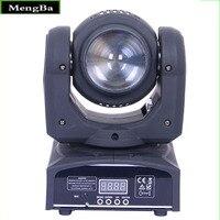 Doppel Seiten 4*10W RGBW LED & Strahl Waschen Licht 16/22 kanäle DMX512 Control Mini Moving kopf Licht Bühne Beleuchtung Wirkung