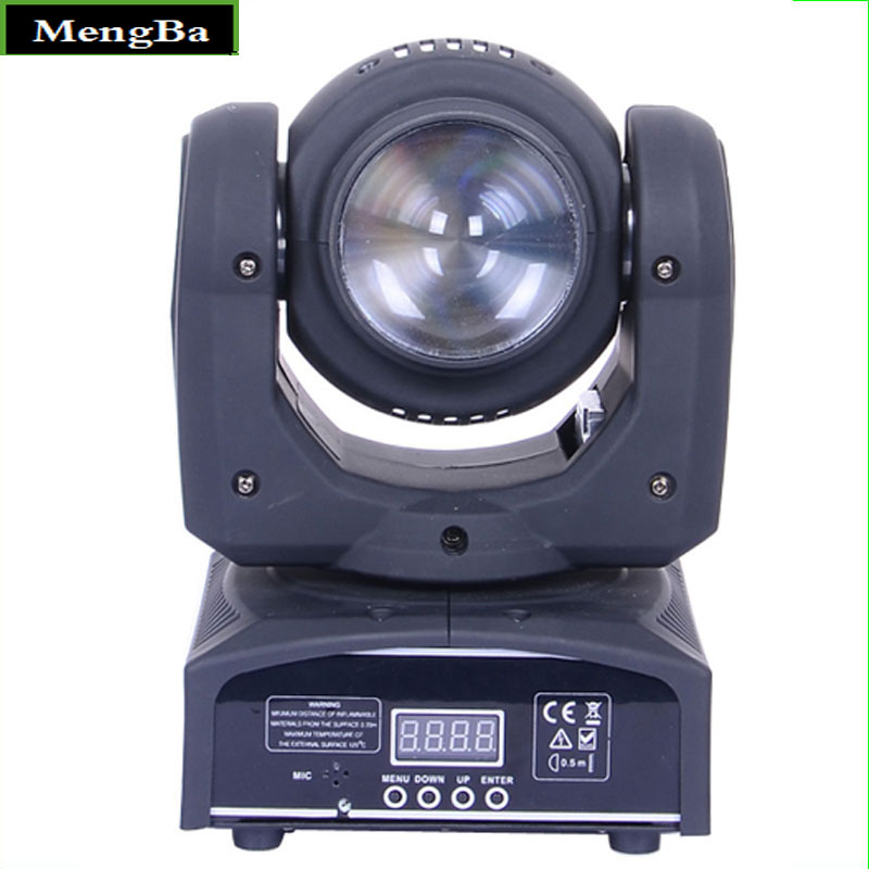 Double Sides 4 *10W RGBW LED Beam & Wash Light 16/22channels DMX512 Control Mini Moving Head Light Stage Lighting Effect
