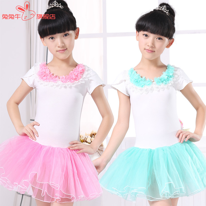 Leotard Ballet Disfraces Ballet Tutu Gymnastic Leotard Dance Costume Children Dancing Saia Girl Kids Ballet Dress Girls Dresses
