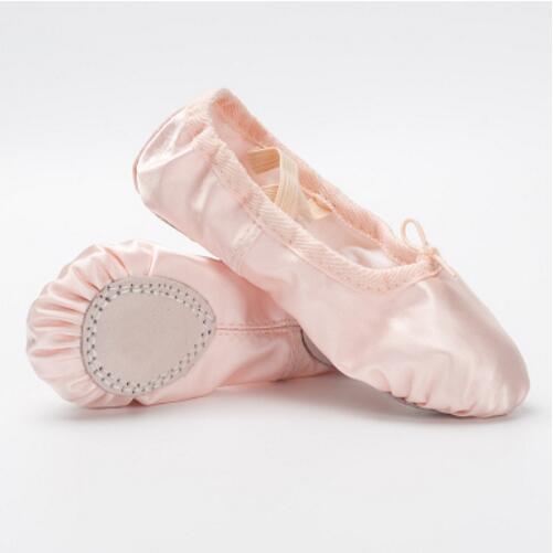 790230d84409 Kids Children Girls Ballet Dance Shoes Soft Sole Flats Slippers ...