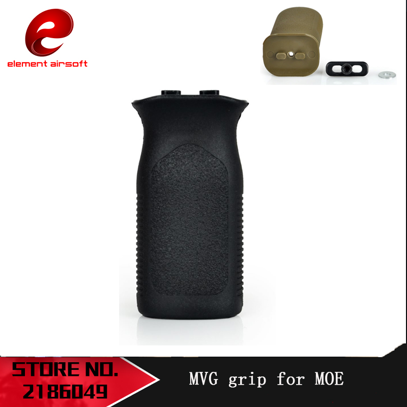 Element Airsoft Tactical MVG MOE Grip For AEG GBB Paintball Accessory Hunting MOE Style Vertical Grip Nerf Accessory|Tactical Headsets & Accessories| |  -