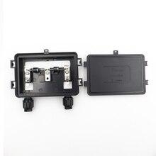 70 Вт-130 Вт Солнечная распределительная коробка водонепроницаемый IP67 для солнечной панели подключения PV распределительная коробка кабельного соединения с солнечной панелью с диодом