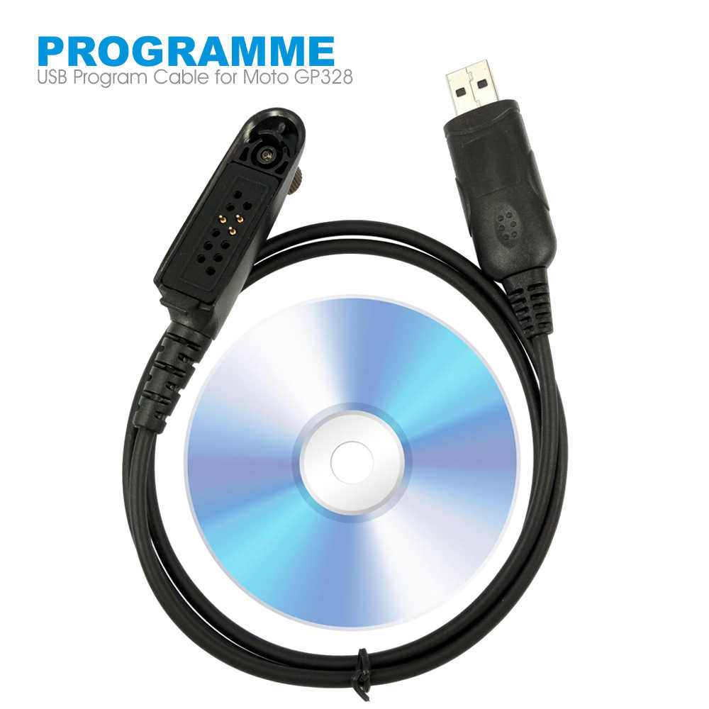 USB Programming Cable for Motorola Radio HT750 HT1250 PRO5150 GP328 GP340 GP380 GP640 GP680 GP960 GP1280 PR860 Walkie Talkie