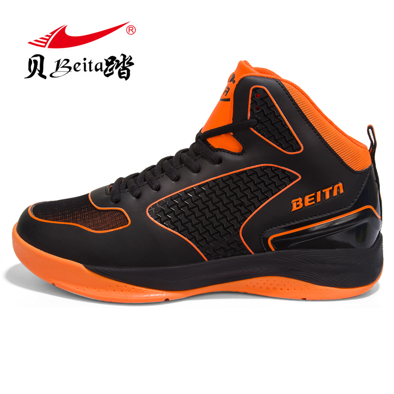 Beita high top Men's Basketball Shoes 2017 Male protect Ankle Boots Anti-slip outdoor Sport Sneakers Breathable Plus Size 39-44 image
