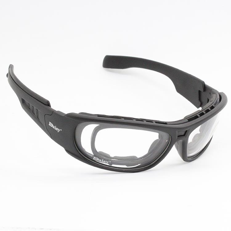 Image 2 - Очки с поляризационными стеклами Daisy C6, армейские тактические  очки для охоты на мотоцикле, страйкбольные пуленепроницаемые военные  очки с 4 линзами в комплектеmotorcycle glasses gogglesmotorcycle  gogglesmotorcycle glasses -