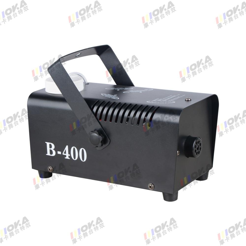 2PCS/lot Professional Fogger Stage Equipment Disco DJ Fog Machine 400w small Smoke Machine