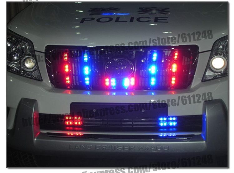 Original 32W Wired Control High Power Super Bright Car Strobe Flash Led Warning Light Working Light DRL Strobe Police Fireman in Signal Lamp from Automobiles Motorcycles