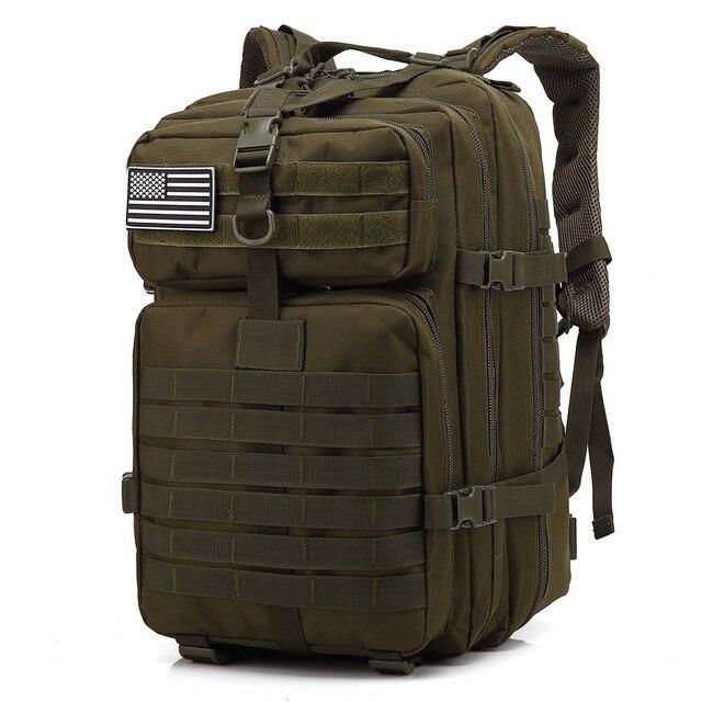 45L Homem de Grande Capacidade Mochilas Táticas Militares Do Exército 3 P EDC Molle Pacote Assalto Sacos Ao Ar Livre Para Caminhadas Camping Caça saco