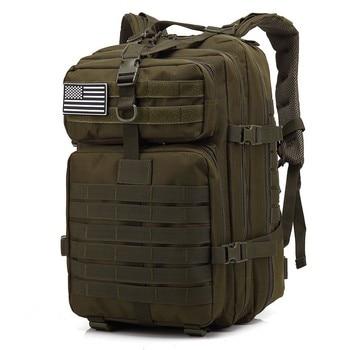 50L rucsaci tactici militari de mare capacitate pentru bărbați, saci de asalt militari în aer liber 3P EDC pentru sac de vânătoare de camping pentru trekking