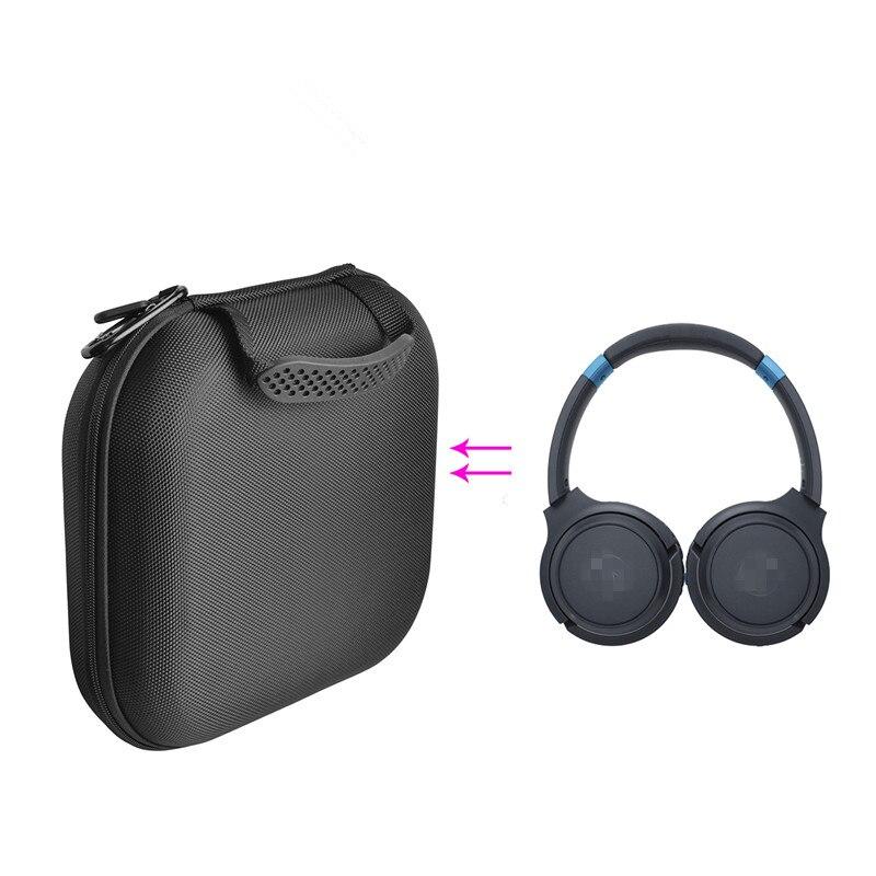 high quality Shockproof EVA Storage Bag for ATH-S200BT Headphones Storage Carry Bag