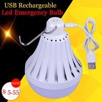 USB Rechargeable LED Light Bulbs E27 220V 12W 20W 30W Outdoor Emergency Lamp Led E27 Energy