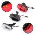 Areyourshop ABS красный светодиод для мотоцикла 12 В стоп-сигнал ходовой задний фонарь универсальный фонарь для мотоцикла