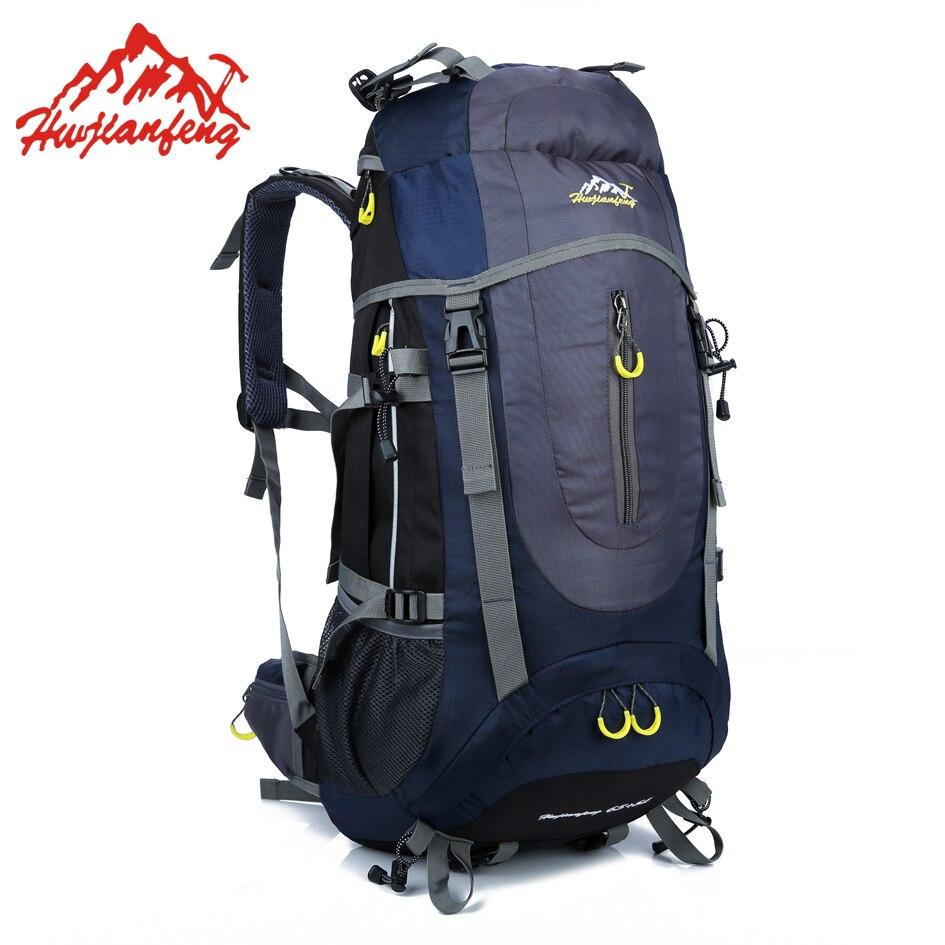 Походная Сумка для кемпинга, походный велосипедный рюкзак, водостойкий тактический рюкзак 70л, нейлоновая Спортивная дорожная сумка для вел...