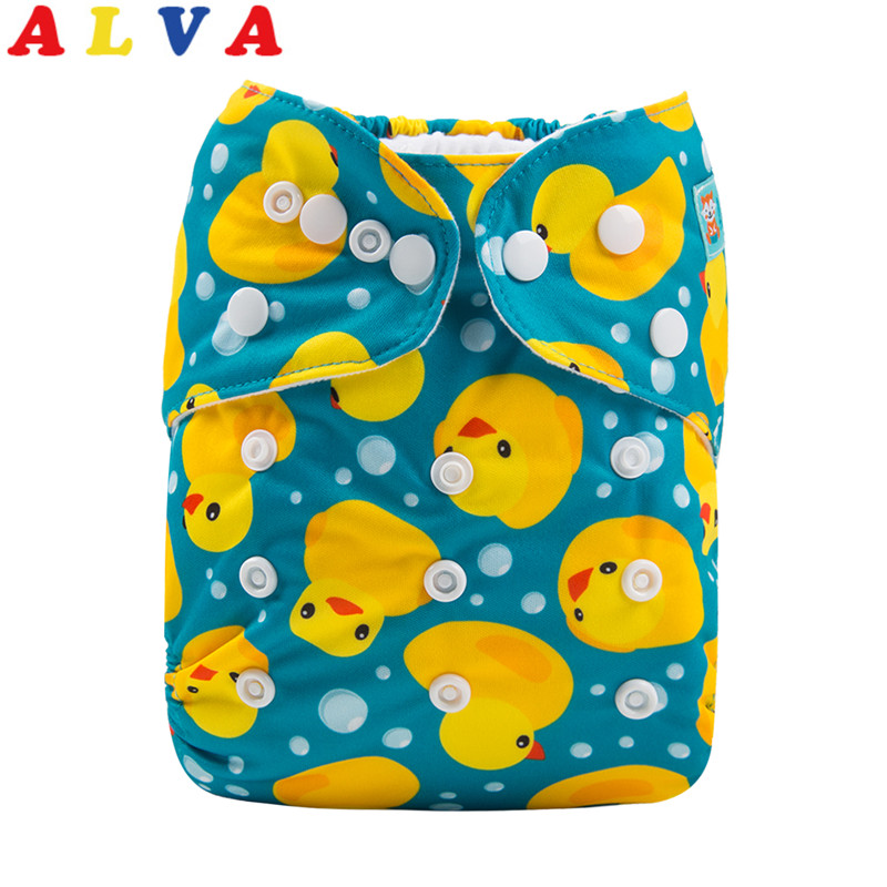 ALVA Baby Reusable Washable Microfiber /& Bamboo Charcoal Cloth Nappies Inserts