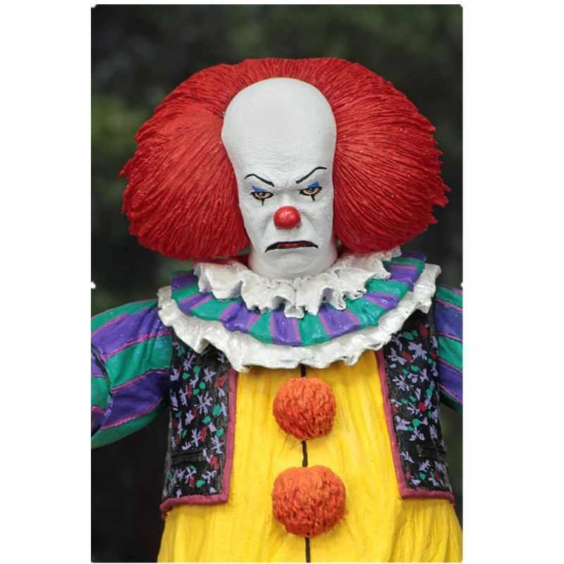 18 CM NECA HET Pennywise Joker 1990 Stephen King Het Clown PVC Action Figure Collection Model Speelgoed Voor Halloween Decoratie gift