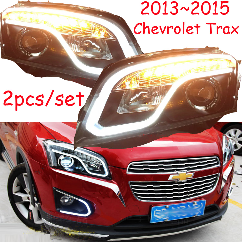 Bumper lamp for Trax headlight 2013 2014 2015 2016year car accessories Trax fog light malibu Aveo