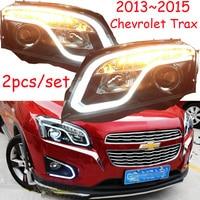 Bumper lamp for Trax headlight,2013 2014 2015 2016year,car accessories,Trax fog light;malibu,Aveo,Epica,Lova,cruze,captiva