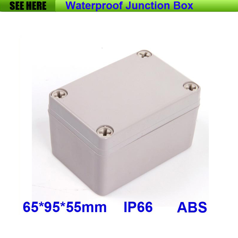 Lights & Lighting Free Shipping Good Quality Abs Material Clear Cover Ip66 Waterproof Electrical Box 65*95*55mm Moderate Price Lighting Accessories