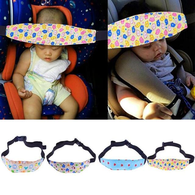 Children Head Protection Baby Chair Headrest Sleeping Support Holder Belt Car Pillows Safety Seat