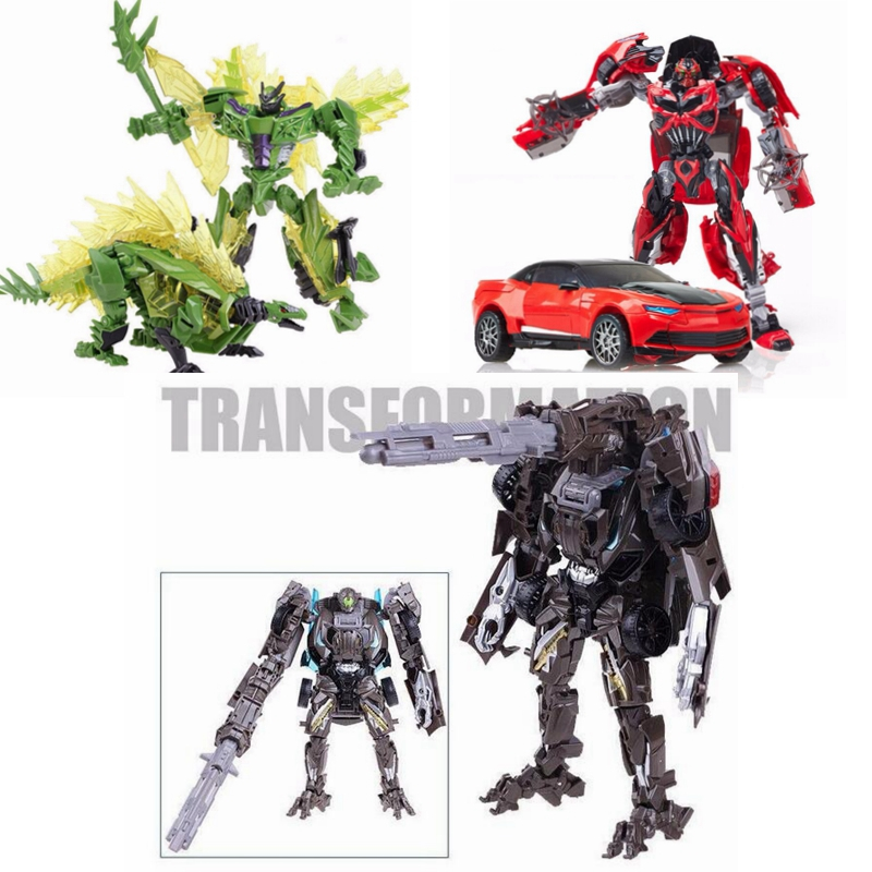 Action Toys For Boys : New alloy transformation robot car action figure toys