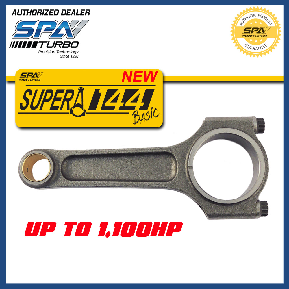 VW 144 MM 4340 A-BEAM Forged Connecting Rods AGU AEB TDI PB AP 20mm Wrist Pins 4 Pcs Set 1.6L 1.8L 2.0L 8v 16v 20v Golf Jetta