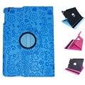360 Градусов Вращения Фея Шаблон Обложка Чехол с Подставкой для iPad 2 iPad 3 iPad 4