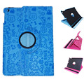360 Degree Rotation Faerie Pattern Cover Case with Stand for iPad 2 iPad 3 iPad 4