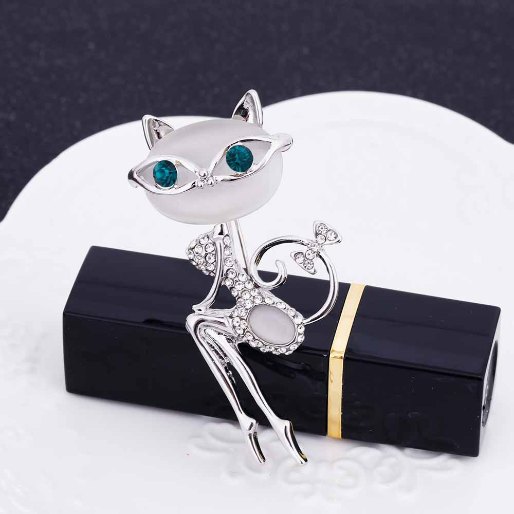 Cute & Sexy Cat Pin Brooch