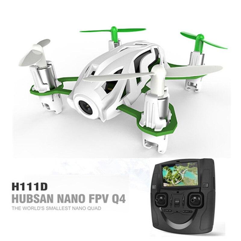 Hubsan H111D Nano FPV Q4 5.8G FPV RC Quadcopter With 720P HD Camera Altitude Hold Mode RTF цена