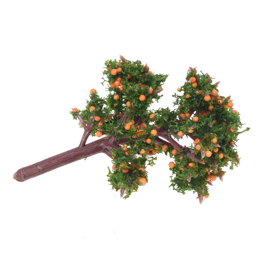 Miniature Emulation Orange Tree Moss Bonsai Mini Landscape DIY Craft Garden Ornament