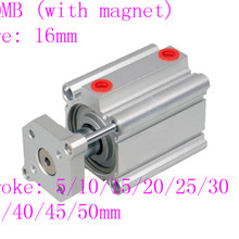 smc type pneumatic cylinder CDQMB bore 16mm stroke  Double Acting guide rod compact air cylinders sda40x15 40mm bore 15mm stroke double acting compact air cylinder