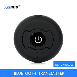 Image 1 - Multi point AUX 3.55mm Wireless Audio Bluetooth Transmitter Music Stereo Adapter For TV Smart PC DVD MP3 Bluetooth 4.0 double