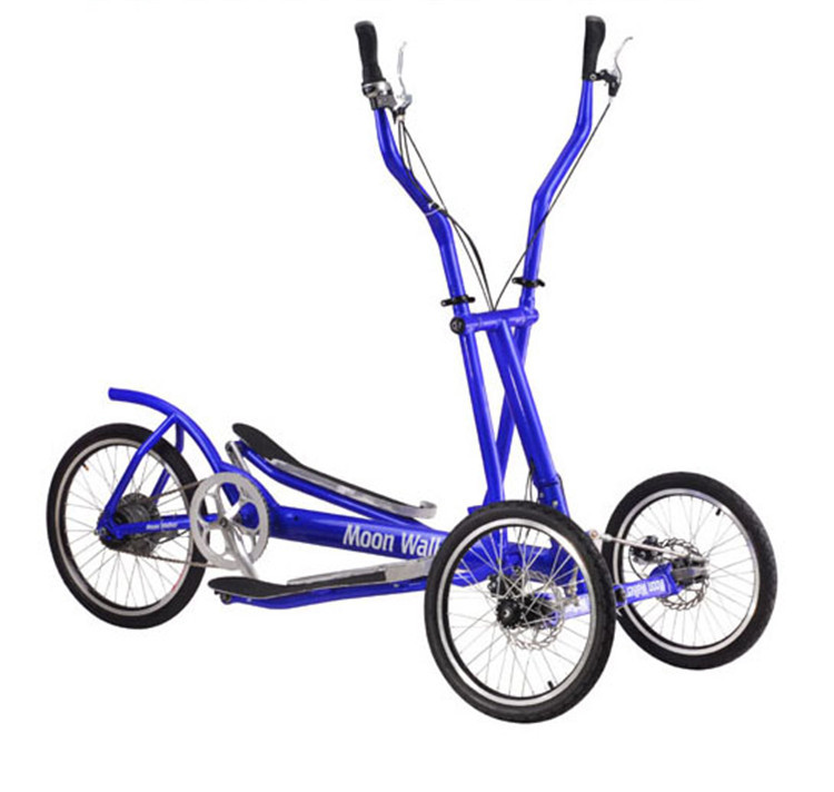 Elliptical Bike For Outside: Factory Supply (8speed)High Quality 3 Wheel Fitness