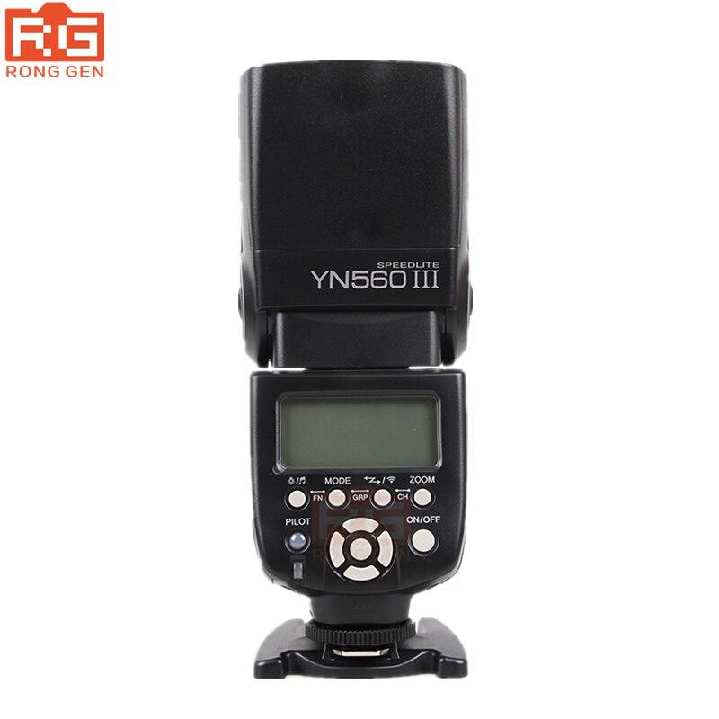 Yongnuo YN-560III YN-iii YN 560 III 2.4 GHz Wireless Trigger Speedlite Flash Per Canon Nikon Trasporto Libero con