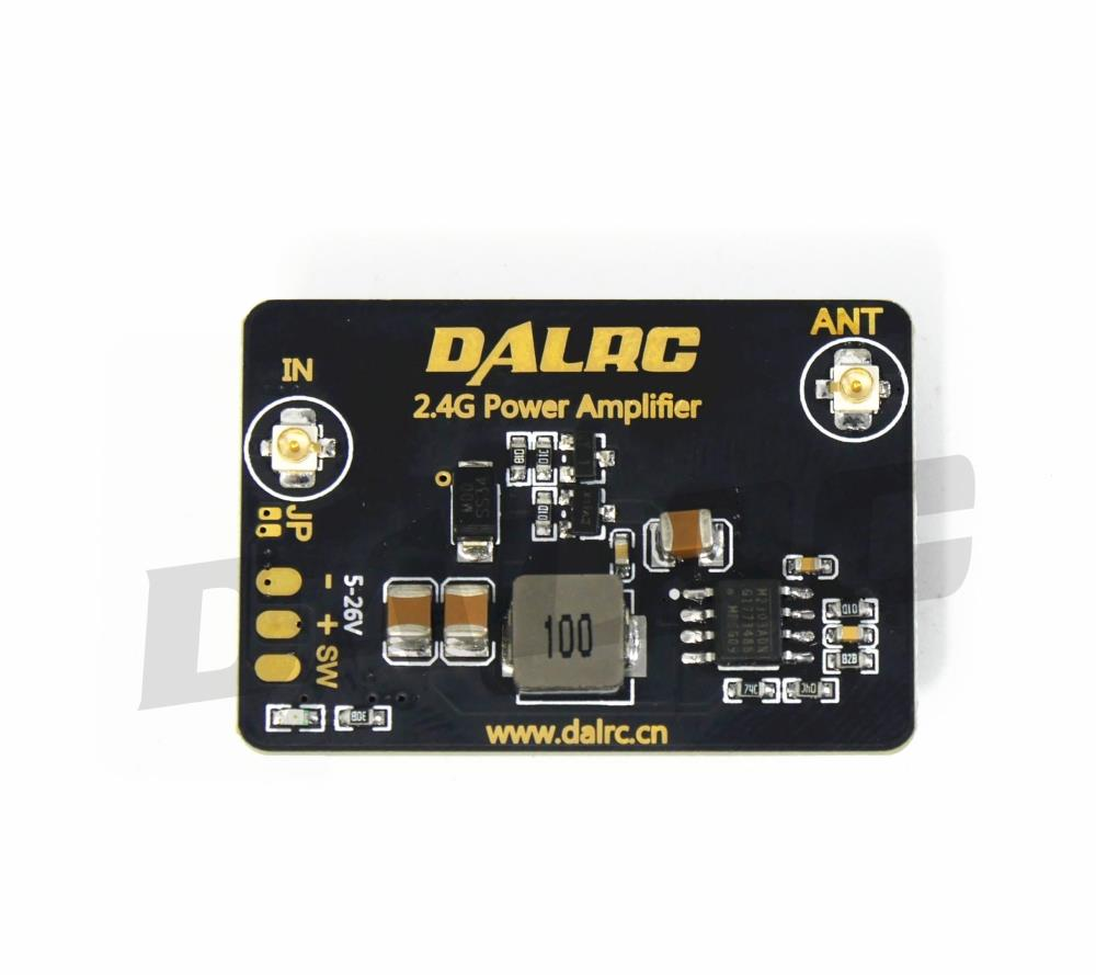 DALRC 2.4G 8dBm Power Amplifier Module Signal Range Extender For DIY FPV Racing Quad Drone FUTABA Frsky Remote Control diy kits 70w ssb linear hf power amplifier for yaesu ft 817 kx3 amplifier