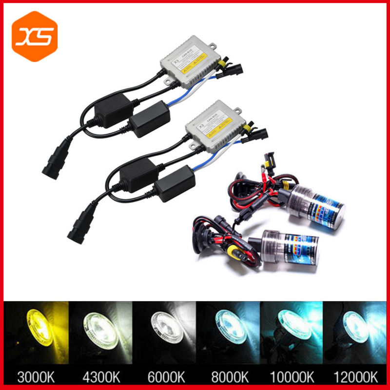 ФОТО 1 Pair 35W X3 Canbus HID Xenon Kit  2PC Canbus HID Ballast Xenon Head Lights H1  H3  H7, h7 can bus