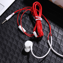 ФОТО soaptree u12 wired earphone sport stereo high bass hd in-line control in-ear headset with microphone computer earbuds for  phone