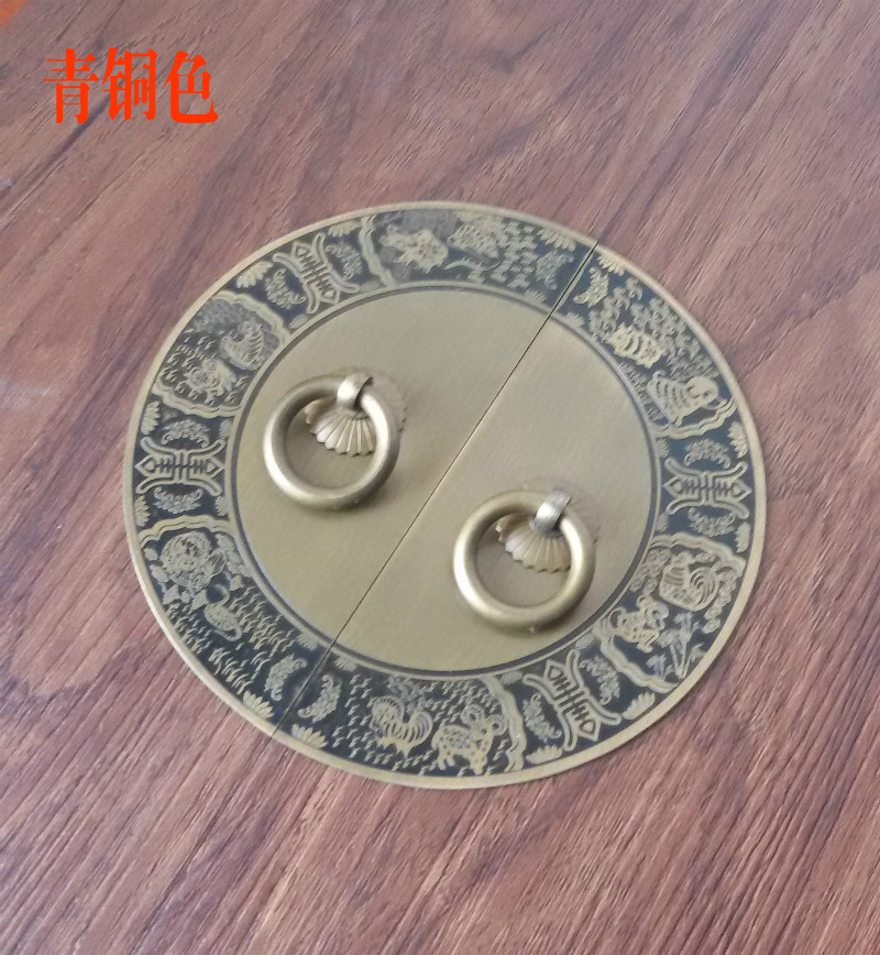 The new Chinese antique furniture of Ming and Qing Dynasties copper fittings copper door wardrobe cabinet handle copper copper hThe new Chinese antique furniture of Ming and Qing Dynasties copper fittings copper door wardrobe cabinet handle copper copper h