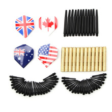 OOTDTY 12Pcs Of Soft Tip Darts & 36 Extra Tips Professional For Electronic Dartboard